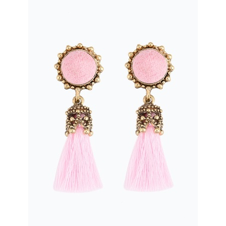 Vintage Style Rhinestones Crystal Tassel Dangle Stud Earrings Fashion Jewelry