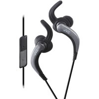JVC HAETR40B Extreme Fitness Earbuds with Microphone (Black)