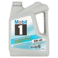 Mobil 1 5W-40 Turbo Diesel Truck Motor Oil, 1 gal.