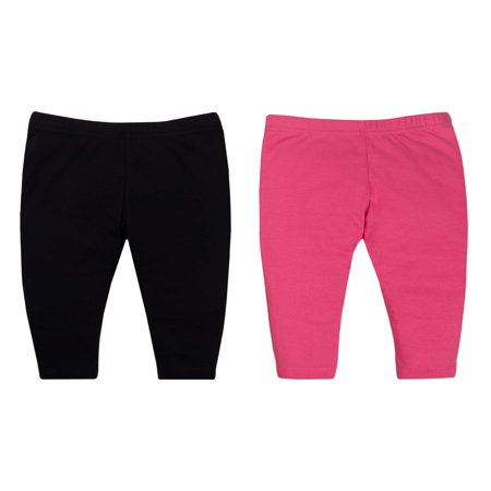 Baby Girl Knit Pants, 2-Pack (Girls Riding Pants)