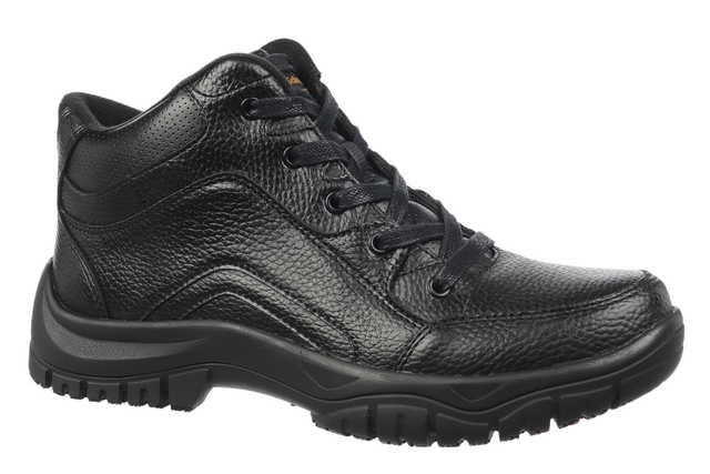Dr. Scholl's Men's Climber Work Boot - Black Boots With Gold Trim
