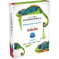 Hammermill, HAM122549, Color Copy Digital Cover Paper, 250 / Pack, White