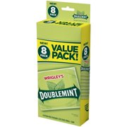 Wrigley's Doublemint, Chewing Gum, 8 Ct