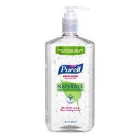 (Pack of 4) PURELL® Advanced Hand Sanitizer Naturals, 28 Oz