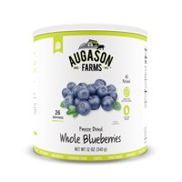 Augason Farms Freeze Dried Whole Blueberries, 12 Oz