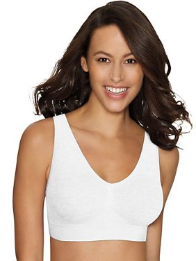 Womens Cozy Comfort Flex Fit Seamless and Wirefree Bra, Style MHG196