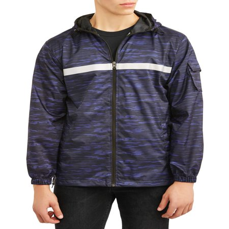 Pnw Men's full zip rain jacket, up to size