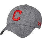 f1fd389b102 Cleveland Indians Under Armour Twist Closer Performance Snapback Adjustable  Hat - Heathered Gray - OSFA