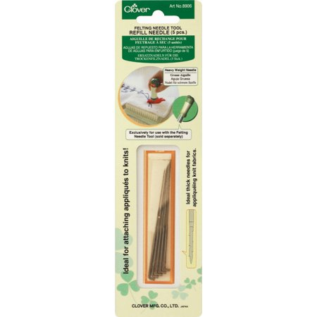FELTING NEEDLE REFILL HEAVY WEIGHT - 4 Felting Needles