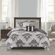 Mainstays 8 Piece Comforter and Coverlet Bedding Set