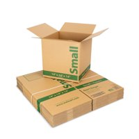 (18 count) 14L x 14W x 14H in. Recycled Kraft Moving Boxes