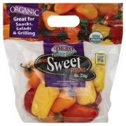 Organic Mini Sweet Peppers, 8 oz