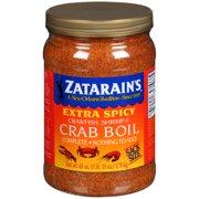 Zatarain's Extra Spicy Crawfish, Shrimp & Crab Boil, 63 oz