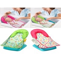 Infant Baby Bather Cradles Bathing Shower Chair Bath Tub Support Seat Chair Foldable Adjustable Safety