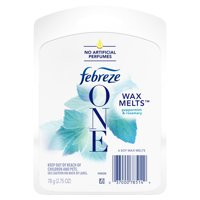 Febreze One Wax Melts Air Freshener, Peppermint & Rosemary, 6 Count