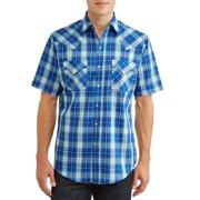 7c827147204 Plains Men s Short Sleeve Plaid Western Shirt