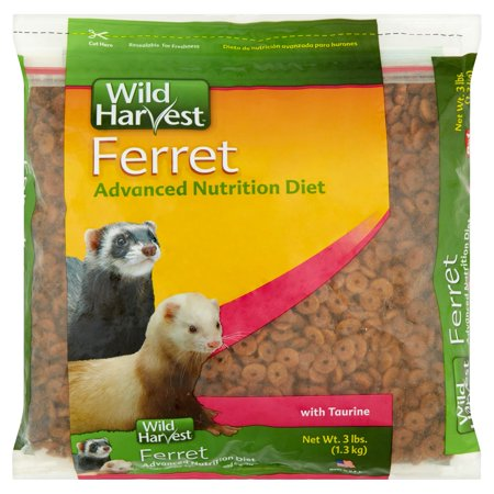 Wild Ferret Food (Wild Harvest Advanced Nutrition Diet Ferret Food, 3 lbs. )
