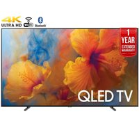 """Refurbished Samsung 75"""" Class 4K (2160P) Smart QLED TV (QN75Q9) + 1 Year Extended Warranty"""