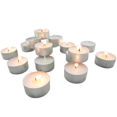 Mint Tea Candle (Stonebriar Collection Unscented Tea Light Candles, 200 Pack)