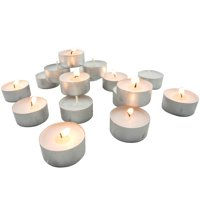Stonebriar Collection Unscented Tea Light Candles, 200 Pack