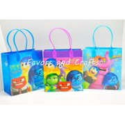 12 Inside Out Party Favor Bags Birthday Candy Treat Favors Gifts Plastic Bolsas De Recuerdo