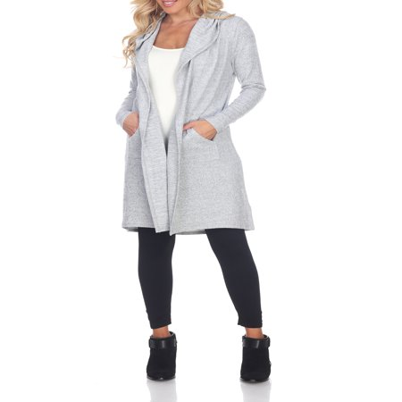Women's Hooded Cardigan