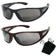 bb7622cb10 Polarized Bifocal Sunglasses Womens Men Fishing Reading Black 1.50 2.00  2.50 New