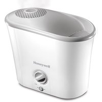 Honeywell 1.3 Gallon Top-Fill Warm Mist Humidifier, HWM-340, White