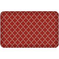NewLife By GelPro Designer Comfort Anti-Fatigue Kitchen Floor Mat 20x32 Lattice Cherry Tomato