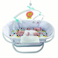 Fisher-Price Soothing Motions Bassinet with Dual-Mode Lighting