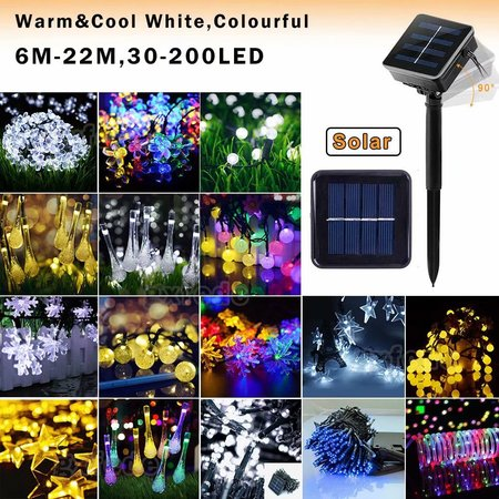 Solar LED Fairy Lights, Solar Outdoor String Lights,Indoor/Outdoor Globe String Lights for Patios, Parties, Weddings, Backyards, Porches, Gazebos, Pergolas & More[8 Modes]((Warm/White/RGB) (Paper Globe Lights)