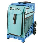 Zuca Calypso Insert Bag Blue Frame With Flashing Wheels