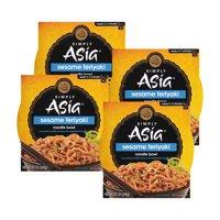 (4 Pack) Simply Asia Sesame Teriyaki Noodle Bowl, 8.5 oz