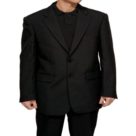 Mens Black Dress Suit - Includes Jacket &