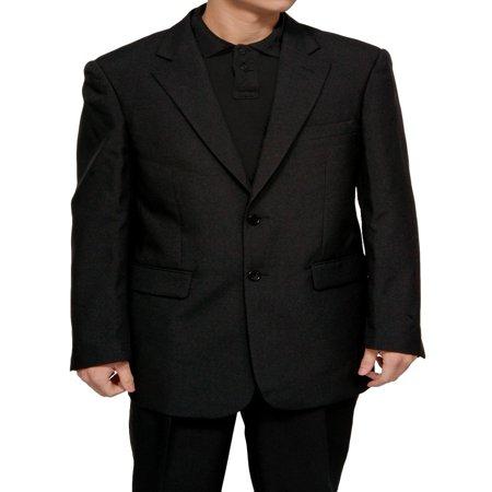 Pants Mens Suits - Mens Black Dress Suit - Includes Jacket & Pants