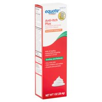 Equate Maximum Strength Anti-Itch Plus Cream, 1 oz