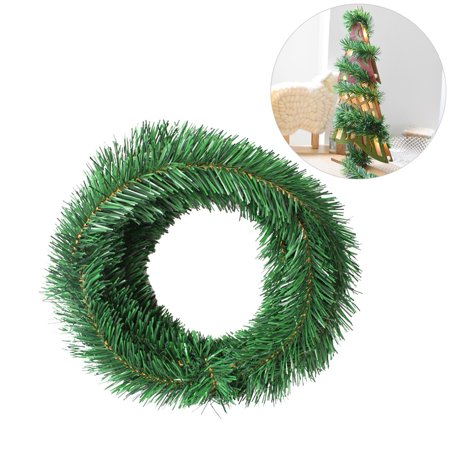 5.5M Christmas Tree Decoration Garland Wired Garland - Barbed Wire Garland