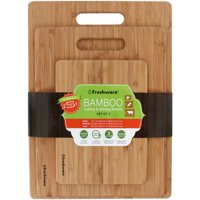 Freshware Bamboo Cutting Boards, 3-Piece, BC-200PK