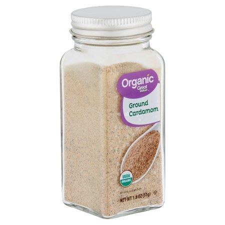 Great Value Organic Ground Cardamom, 1.8 oz - Organic Essential Ground