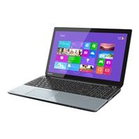 "Toshiba Ice Silver 15.6"" Satellite S55t-A Laptop PC with Intel Core i7-4700MQ Processor, 8GB Memory, 1TB Hard Drive, Touchscreen and Windows 8"