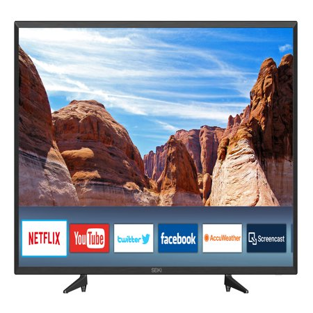 "SEIKI 40"" Class FHD (1080P) Smart LED TV"