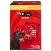 Ol' Roy Bark'n Bac'n Twin Pack Dog Treats, 50 oz, 2 count