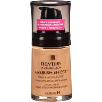 Revlon PhotoReady Airbrush Effect Makeup, Natural Beige, 1 fl Oz