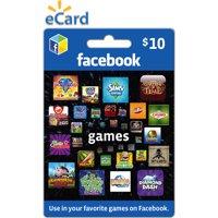 Facebook Games $10 eGift Card (Email Delivery)