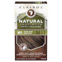 Clairol Natural Instincts Hair Color for Men, M11 Medium Brown