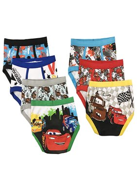 Handcraft Disney Toddler Boys' Favorite Characters Underwear, 7-Pack