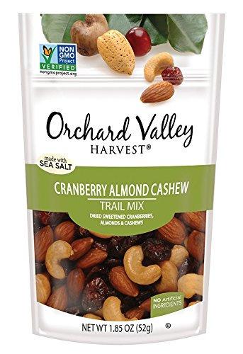 Orchard Valley Harvest Cranberry Almond Cashew Trail Mix, 1.85 (Almond Mix)