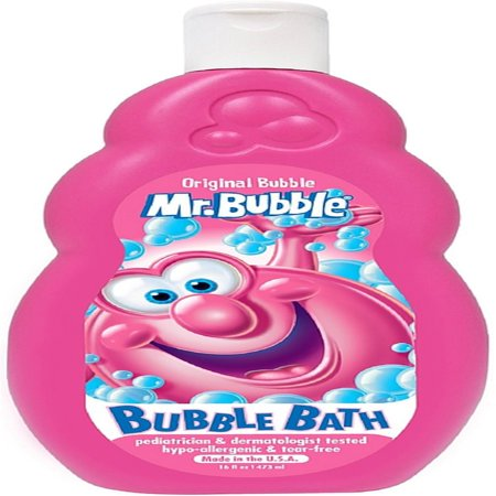 Mr. Bubble Liquid Bubble Bath, Original 16 oz (Pack of 2)](Bubble Bash 2)