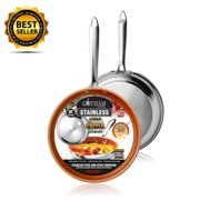 """New! Gotham Steel Stainless Steel Premium 8.5"""" Non Stick Frying Pan – As Seen on TV!"""