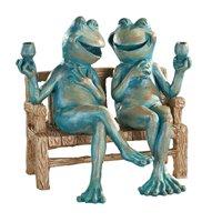 Happy Hour Frogs Garden Statue